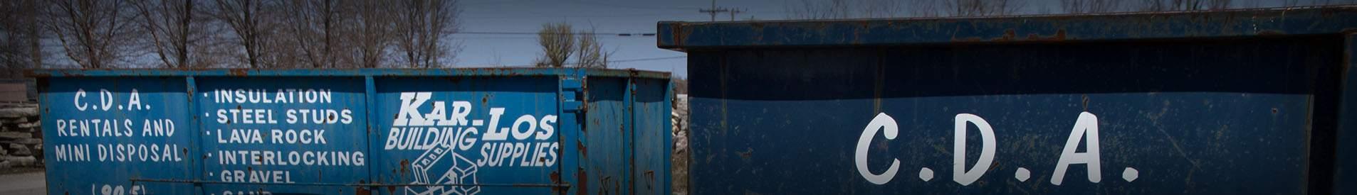 Disposal Bins Bradford